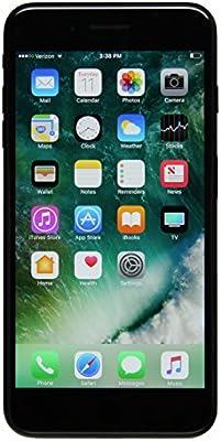 Apple iPhone 7 Plus a1661 128GB Smartphone Verizon Unlocked Jet Black (Renewed)