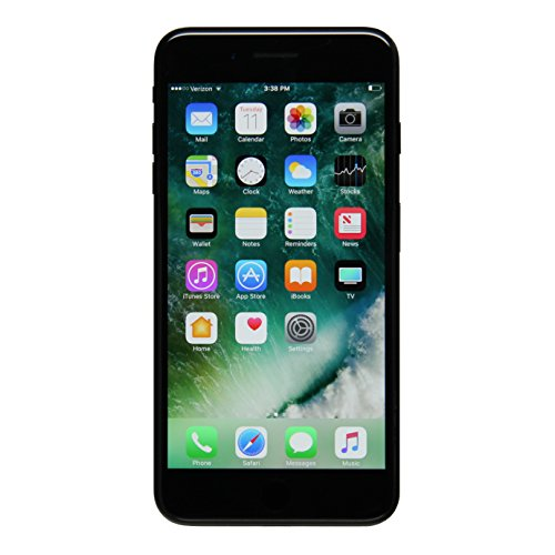 Apple iPhone 7 Plus, GSM Unlocked, 128GB - Jet Black