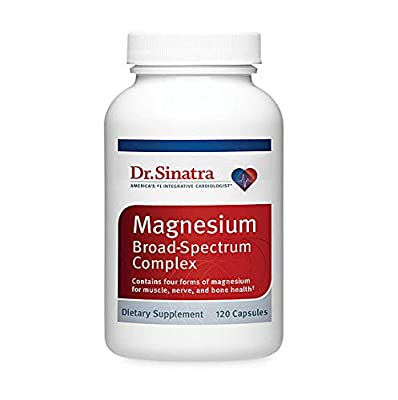 Dr. Sinatra's Broad Spectrum Magnesium Supplement for Healthy Blood Pressure, Strong Bones, and Increased Energy