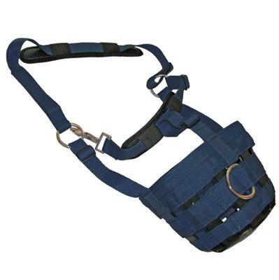 Jumpers Horse Line Unisex's Jhl Comfort Grazing Muzzle Xfull Navy JHL860704