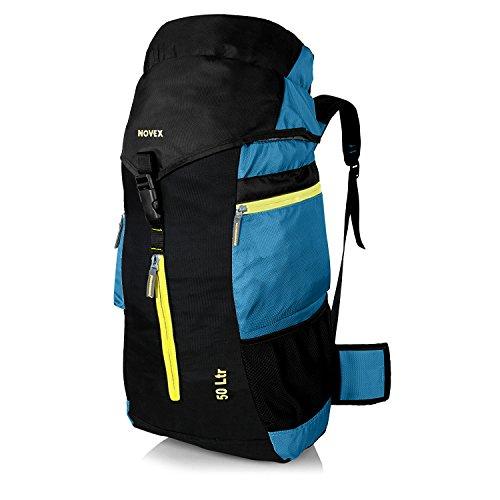 NOVEX Voyage 50 Ltrs Rucksack Hiking Backpack | Trekking Bag | Rucksack Bag