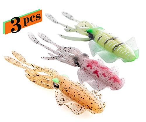 The Ultimate Squid Fishing Lures Jig Saltwater and Freshwater for bass and ling cod and Rock Fish on This Lure