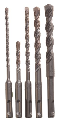 Bosch HCK005 5-Piece S4L SDS-plus Rotary Hammer Drill Bit Set