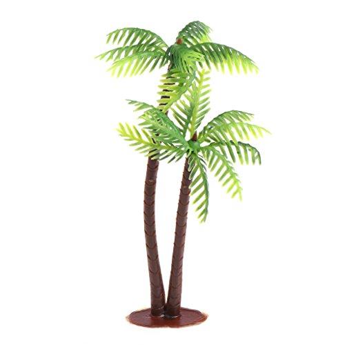 cici store Mini Scenery Landscape Artificial Coconut Palms Tree - Home Decor -