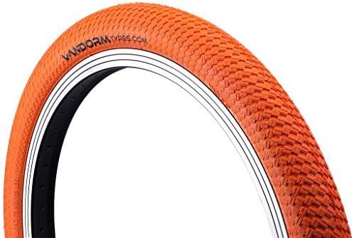 Vandorm - Ruedas de Colores Drifter R2R para Bicicleta BMX, 20 x 2 Pulgadas, Color Rojo, tamaño 20