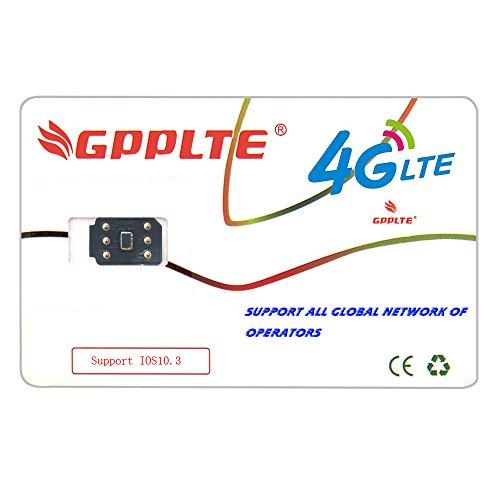 New Gpp Unlock Apple Iphone Smart Repair Card 7  7 6S  6S 6 6  5C 5S 4Glte Support Ios11 Verizon Sprint T Mobile At T