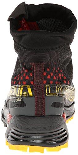 La Sportiva Crossover 2.0 Gtx Imperméable Chaussures De Course De Montagne Pour Hommes Noir / Jaune
