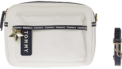 Tape Cross Hilfiger Tommy Bag White Womens Logo White Body a1ZSE