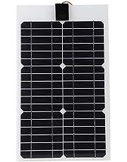 Flexibel zonnepaneel, zonnepaneelkit, lichtgewicht zonnepaneeloplader, 20W zonnepaneel, waterdicht voor thuis gebruiksvriendelijk plantenkas Milieuvriendelijk