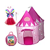 big_store Premium Tents For Kids Featuring Glow In The Dark Stars Hearts Design With 2 Mesh Windows Sunroof Features Innovative Child Friendly Design With A Lightweight Zipper Pack Of 5 & ebook by