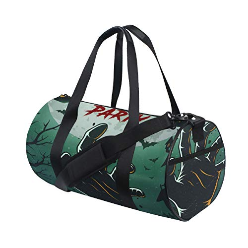 Halloween Thrilling Zombie Hand Custom Multi Lightweight Large Yoga Gym Totes Handbag Travel Canvas Duffel Bags With Shoulder Crossbody Fitness Sports Luggage For Boys Girls Mens Womens]()