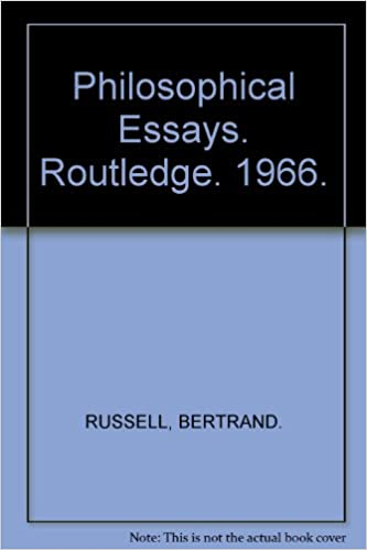philosophical essays bertrand russell com philosophical essays 1st edition