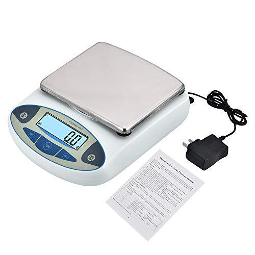 KOOKYOU Lab Analytical Electronic Balance Scale 0.1g Laboratory Balance Digital Kitchen Balance Scale Weight Gram Scale Jewelry Precision Scale (30kg/0.1g) (Precision Scale Laboratory)