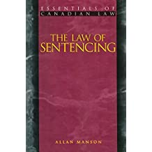 The Law of Sentencing