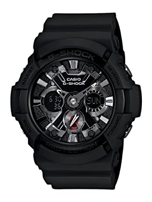 Casio Men's GA201-1 G-Shock Shock Resistant Black Resin Analog Sport Watch from Cannon Gate Pub Inc