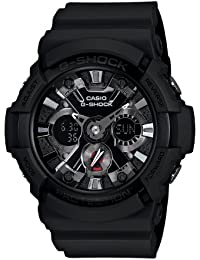 Men's GA201-1 G-Shock Shock Resistant Sport Watch With Black Resin Band