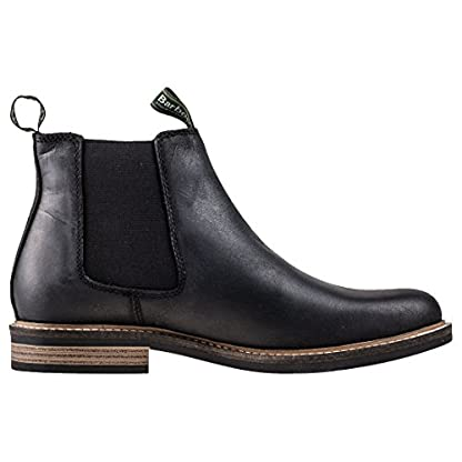 Barbour FARSLEY Ankle Boots/Boots Men Black Mid Boots 6