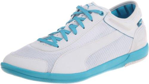 PUMA driving Potencia Low zapatillas de deporte zapatillas de malla ligeras de entrenamiento de ocio colour blanco/azul
