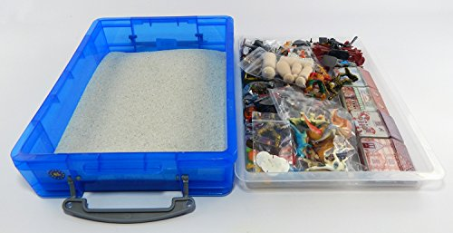 Play Therapy Toys : Play therapy sand tray basic portable starter kit with