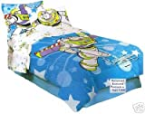 Toy Story Buzz Lightyear - Comforter Bed Set - Twin Bedding