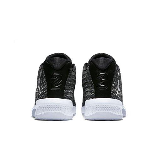 de B Zapatillas para hombre gris negro blanco negro Jordan oscuro Nike Fly de baloncesto rBqwUt0r