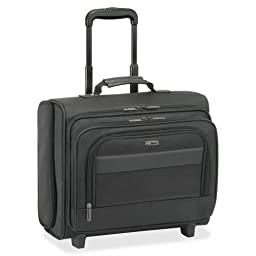 Solo Rolling Notebook Overnighter Case - Clamshell - 16.5\