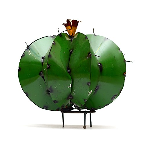 Rustic Arrow Barrel Cactus Garden Art, (Plant Barrel Cactus)