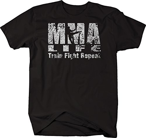 OS Gear Distressed - MMA Life Train Fight Repeat UFC for sale  Delivered anywhere in USA