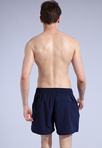 ORANSSI Men's Quick Dry Swim Trunks Bathing Suit Beach Shorts, Navy, Medium, 34-36 Waist by ORANSSI (Image #5)