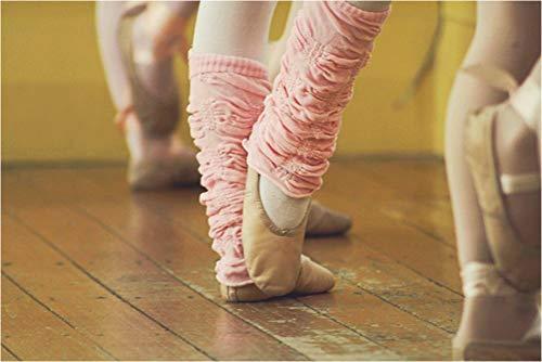 Huggalugs Girls Ballet Pink Legruffle Legwarmers,regular - 6 months to 8 years ()