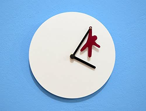 Hanging Man - Wall Clock