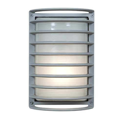 Access Outdoor Lighting (Access Lighting 20010LEDMG-SAT/RFR Bermuda Outdoor LED Bulkhead Wall Light, 11