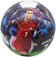 Forever Fanatics Portugal Ronaldo #7 Soccer Ball Kids & Adult Size 5 ✓ Best Gift for Fans ✓ Unique 6 Panel