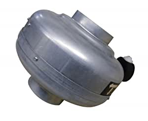 Chaysol - Ventilador de tuberías (235 m³/h, tubería de 100mm)