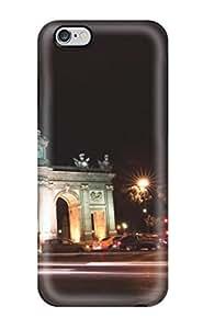 Hot Design Premium HUbcjCj15272BJYju Tpu Case Cover Iphone 6 Plus Protection Case(puerta De Alcal??)