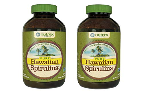 Nutrex Hawaii Spirulina Powder 16 Ounces (2 Pack) (Nutrex Hawaii Hawaiian Spirulina)