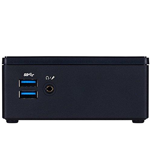 Gigabyte GB-BXI3H-5010 PC/estación de Trabajo Barebone - Barebón (Intel, i3-5010U, 2,1 GHz, Unidad de Disco Duro, SSD, 6, 35 cm (2.5