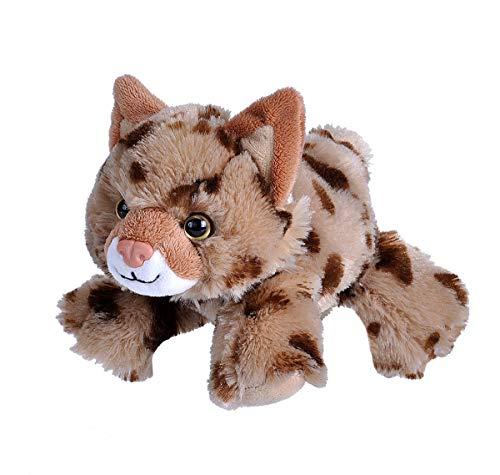 Wild Republic Bobcat Plush, Stuffed Animal, Plush Toy, Gifts for Kids, Hug