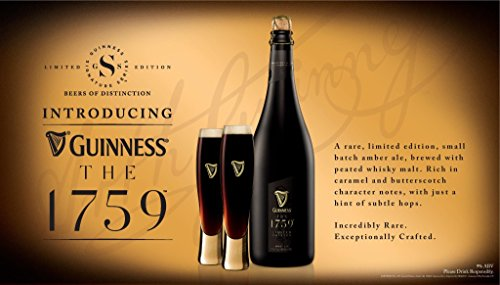 Guinness Signature 1759 Crystal Flute Glass | Set of 2