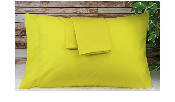 Aiking Home 2-Pack of 280TC Poly-Cotton Easy Care Pillow Case Set