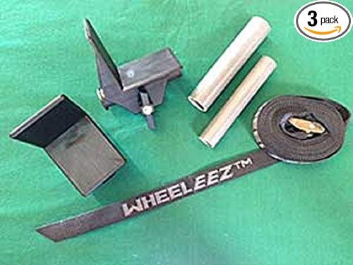 Wheeleez WZ1-UBK Pack of 3 pcs Universal Bracket Kit