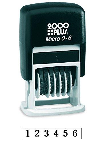 2000 PLUS Self-Inking Numberer Stamp, 1/2