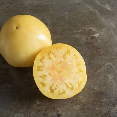 David's Garden Seeds Tomato Beefsteak Great White D7Q16A (White) 50 Organic Heirloom Seeds