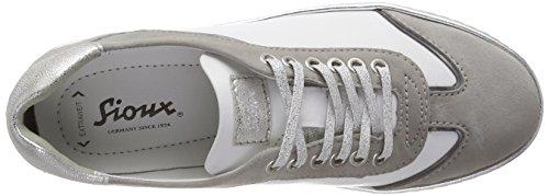 Sioux Oxiria-701-Xl, Sneaker Donna Grigio (Matera/Weiss/Linen 009)