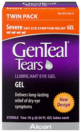 GenTeal Lubricant Eye Gel, Severe, Twin Pack - ( 2 tubes 10 grams each)  - Packaging May Vary ()