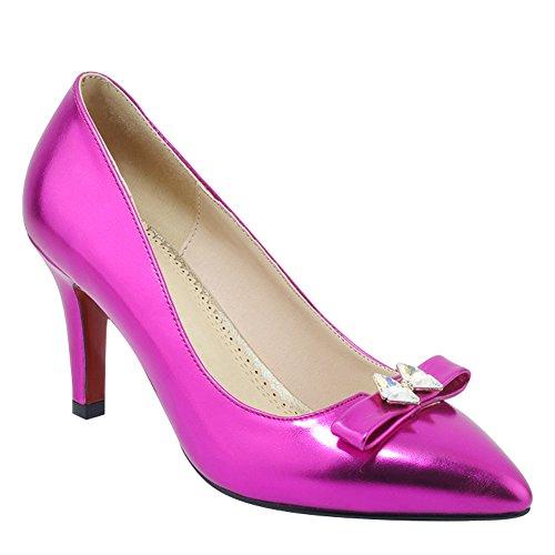 Latasa Womens Pointed-toe High Heels Dress Pumps Rose 1KBV4