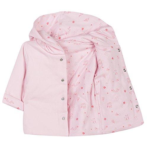 86b4ff979 Absorba Boutique Interlock Bio Imprimé-Giubbotto Unisex - Bimbi 0-24 Rosa  (Rose 30) 3 Mesi  Amazon.it  Abbigliamento