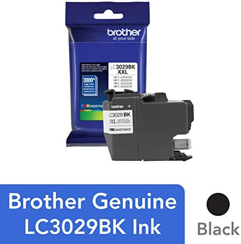 Brother Cartridge LC3029BK Replacement Replenishment