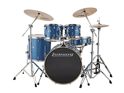 Sparkle Floor Tom - Ludwig Element Evolution 5-piece Drum Set