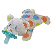 Mary Meyer Confetti Wubbanub Plush Pacifier, Teddy